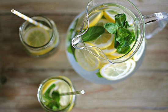 Dadlı su (DETOKS) resepti